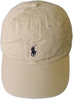 (ポロ ラルフローレン)POLO Ralph Lauren キャップ CAP 帽子 ハット メンズ レディース PONY ポニー ワンポイント ベージュ×ダークネイビー - [並行輸入品]