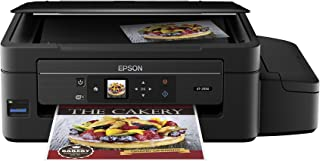 Epson Expression ET-2550 EcoTank Wireless Color All-in-One Supertank Printer with Wi-Fi, Wi-Fi Direct, Tablet and Smartphone Printing, Easily Refillable Ink Tanks