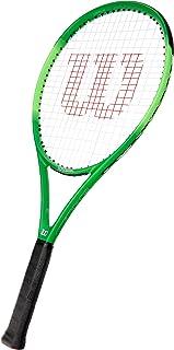 Wilson Tennis Racket WR018810U Blade Feel Pro 105 Junior or Recreational Tennis Player, Fiberglass/Aluminium Composite, Bl...