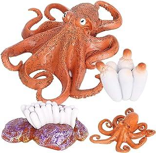 simhoa Baby Early Educational Development Preschool Toy Octopus Life Cycle Model