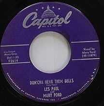 Less Paul 45 RPM Don''cha Hear Them Bells / The Kangaroo