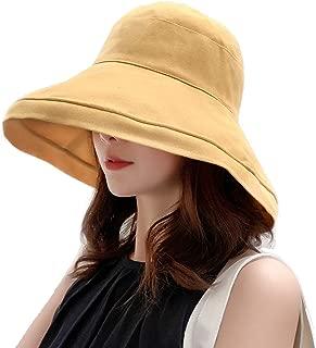 Olinke UVカット 帽子 レディース 紫外線対策 ワイヤーを加える 熱中症予防 トレッキングハット サファリハット ツバ広 帽子 折りたたみ 母の日 海 旅行 自転車 つば広 おしゃれ 可愛い ハット