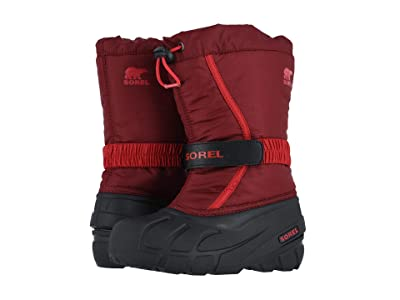 SOREL Kids Flurry (Toddler/Little Kid/Big Kid) (Red Jasper/Mountain Red) Boys Shoes