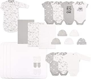b110362cd35 The Peanutshell Newborn Layette Set in Unisex Grey - 23 Piece Set for  Newborn Baby Boys