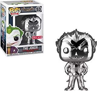 The Joker (Target Exc): Funko Pop! Heroes Vinyl Figure & 1 Compatible Graphic Protector Bundle (053 - 42334 - B)