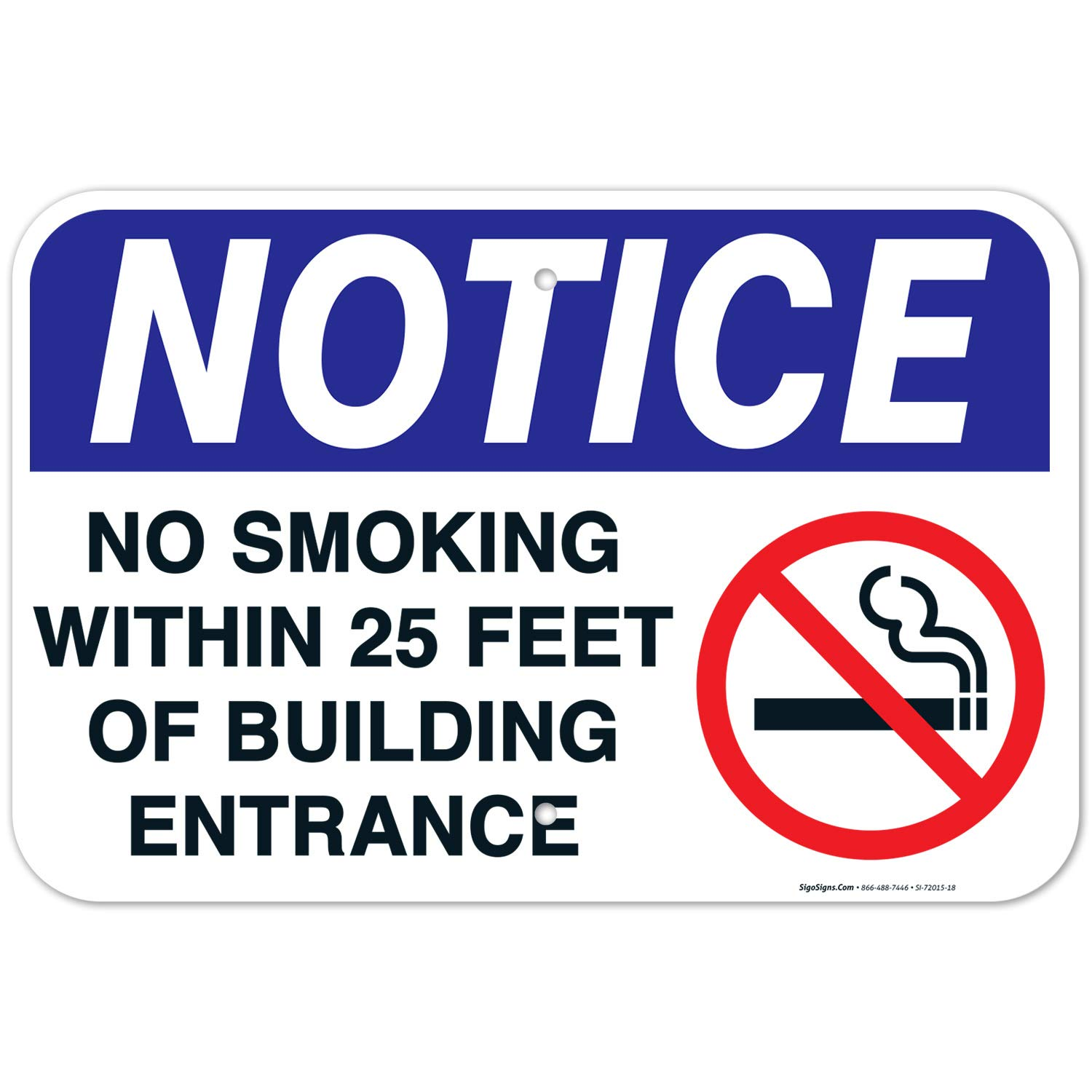 No Smoking Sign Within 25 Feet Free Shipping Cheap Bargain Gift Building Entrance Albuquerque Mall of