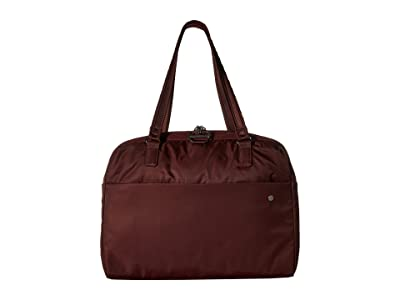 Pacsafe Citysafe CX Anti-Theft Slim Laptop Brief (Merlot) Briefcase Bags