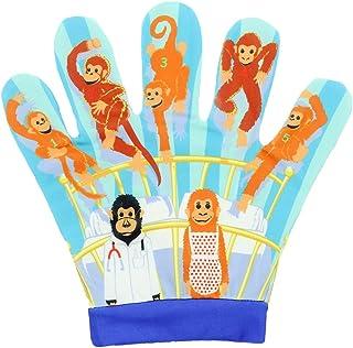 The Puppet Company - Manoplas de canción con Cinco Monos pequeños
