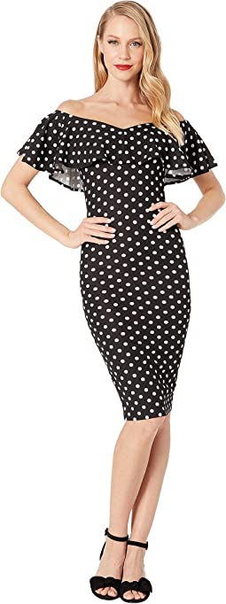 Black/White Polka Dot
