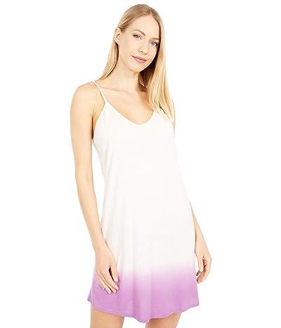 Skin Organic Pima Cotton Ombre Slip (Pearl Pink/Berry Mousse) Women