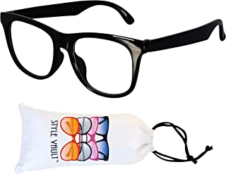 Kd210 infant baby toddlers age 0~36 months 80s hipster clear lens Glasses sunglasses