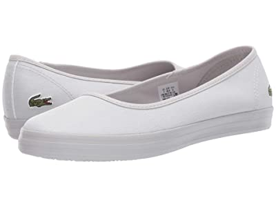 Lacoste Ziane Ballet 319 1 (Light Grey/Light Grey) Women