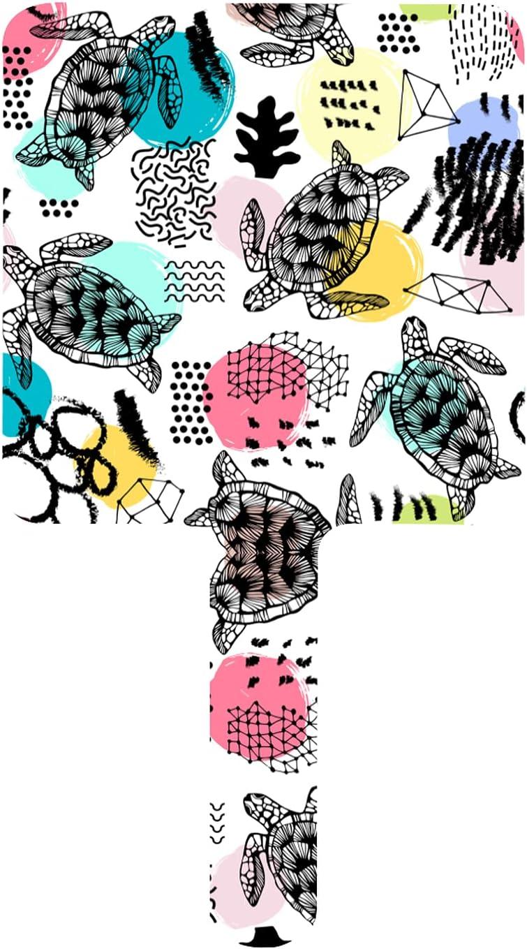 MIAOXXUAN Watercolor Sea Turtles On Square Ha Mirror White Max 76% OFF Hand 5 ☆ popular