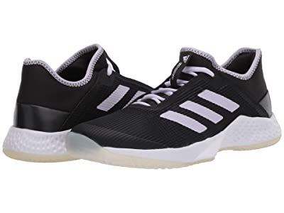 adidas Adizero Club (Core Black/Purple Tint/Footwear White) Women