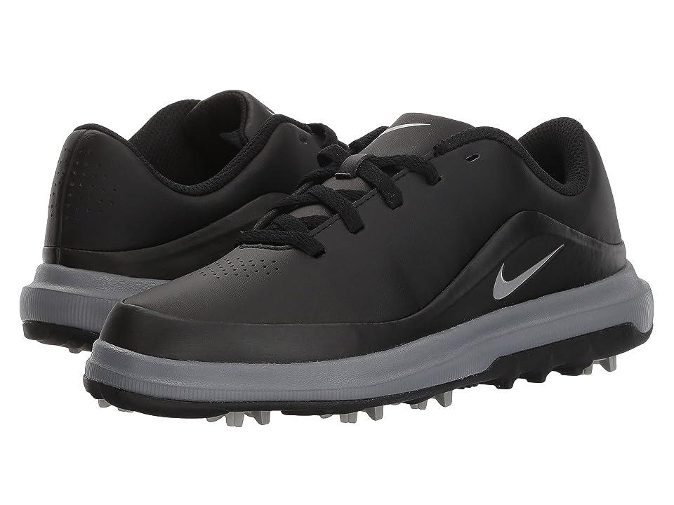 Nike Golf Precision (Little Kid/Big Kid) (Black/Metallic Silver/Cool Grey) Men