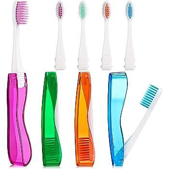Cepillo de dientes plegable portátil Ungfu Mall, para viaje ...
