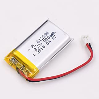 3.7V 2300mAh 125054 Lipo battery Rechargeable Lithium Polymer ion Battery Pack with JST Connector