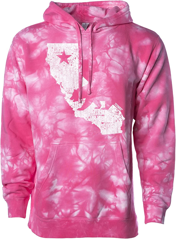 California State Map - ギフト Cali 爆売り Hoodie Bear Unisex Sweatshirt