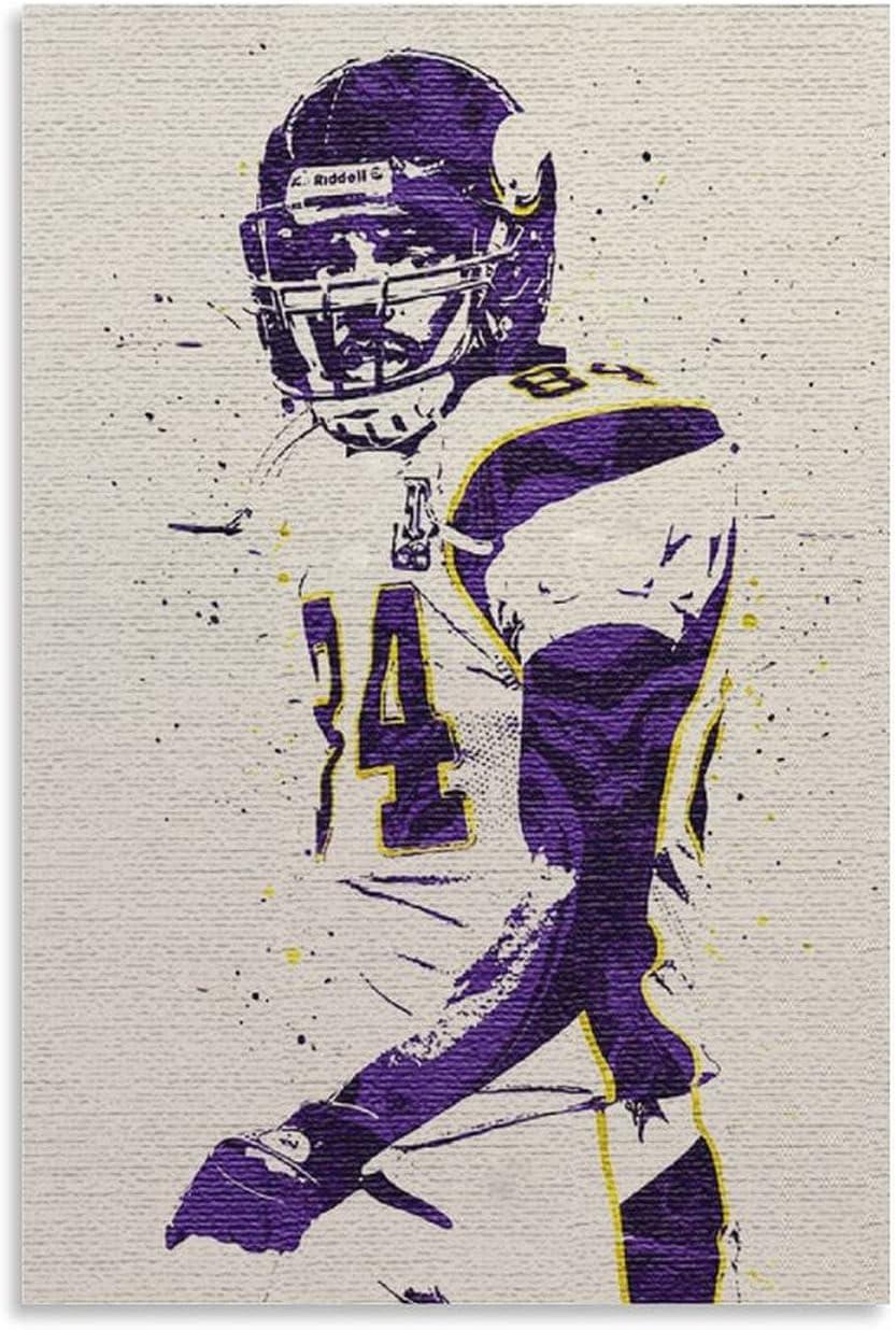 GANHSFYSYA American Football Superstar Poster Product Decorat Moss Complete Free Shipping Randy