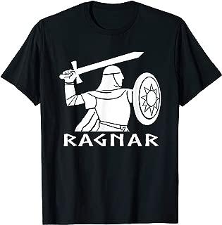Ragnar Lodbrok T-Shirt Lothbrok Viking Norse Astrau Tee