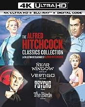 The Alfred Hitchcock Classics Collection 4K Ultra HD + Blu-ray + Digital - 4K UHD