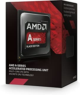 AMD Black Edition A10-Series APU Processors with Radeon R7 Graphics (A10-7860K-AD786KYBJCSBX)