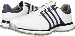 Footwear White/Collegiate Navy/Gold Metallic