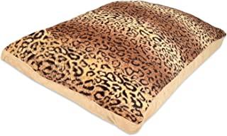 Rohi Luxury Dog Bed Mattress Cushion, Cheeta Washable Zipped Mattress Cover, Extra Large, 80cm x 120cm