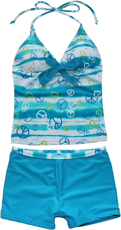 Haitryli Kids Attention brand Girls Two Pieces Bathing Suit Halter Neck SALENEW very popular! Tank Top
