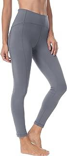 Women 25 Inches Yoga Leggings Sports Power Flex Mid-Waist Gym Running Tights 70824