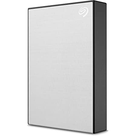 Seagate Backup Plus Portable 5TB External HDD – USB 3.0 for Windows and Mac, 3 yr Data Recovery Services, Portable Hard Drive – Silver with 4 Months Adobe CC Photography (STHP5000401)