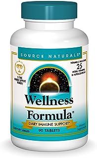 Source Naturals Wellness Formula Bio-Aligned Vitamins & Herbal Defense - Immune System Support Supplement & Immunity Boost...