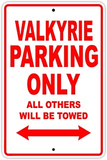 HONDA VALKYRIE Parking Only All Others Will Be Towed Motorcycle Bike Novelty Garage Aluminum 8
