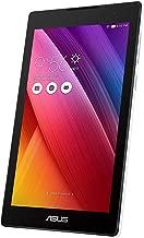 Asus ZenPad C 7.0 Z170CG-1B030A Tablette avec Fonction téléphone, processeur Intel Quad Core, 16 Go, Dual SIM, Android 5.0, Blanc (reconditionné)