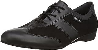 """Diamant Men's Model 123 Dance Sneaker- 1"""" (2.5 cm) Wedge Heel (Wide - H Width), 10.5 W US (10 UK)"""