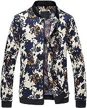 Nothar Mens Casual Jacket Outdoor Sportswear Windbreaker Lightweight Bomber Jackets and Coats