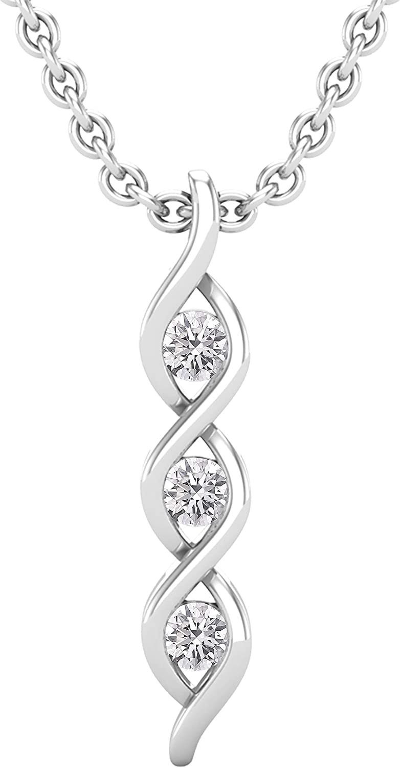 Excellence Dazzlingrock Collection 0.10 Carat ctw Max 63% OFF Round Grown Diamond Lab