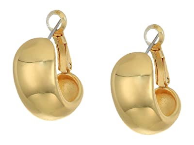 Vince Camuto Domed Huggies Earrings (Gold) Earring