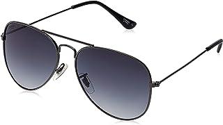 Creed Gradient Aviator Sunglasses (CR-777|C29|58) (Men and Women)(Gun Metal)