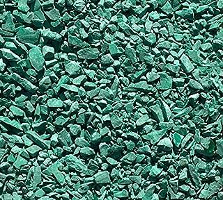 Natural Crushed Malachite Stone Inlay, Medium, 1/2 ounce