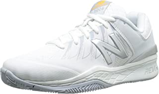 New Balance Women's WC1006V1 Tennis Shoe, White/Silver, 6.5 D US