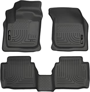 Husky Liners Fits 2013-2016 Ford Fusion Energi/Titanium, 2013-2016 Lincoln MKZ Weatherbeater Front & 2nd Seat Floor Mats