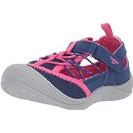 OshKosh B'Gosh Kids Atka Girl's Mesh Athletic Bumptoe Cutout Sneaker