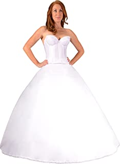 Bridal Dresses Petticoat Crinoline Slip for Wedding Dress Ball Gown, Made in USA - coolthings.us