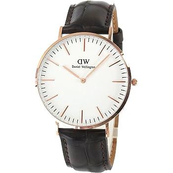 ダニエル ウェリントン腕時計 ユニセックス レザーベルト 0111DW 並行輸入品 [並行輸入品]