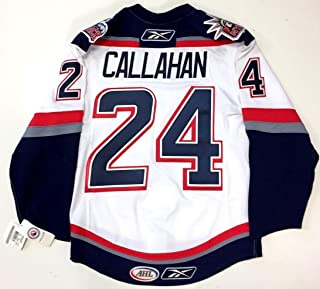 b6dcf1810 Ryan Callahan Hartford Wolfpack Authentic White Reebok Edge Jersey 46  Rangers - 5