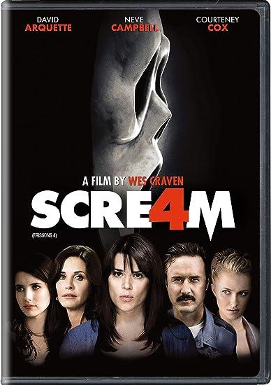 Scream 4 Frissons 4 Bilingual Amazon Ca Neve Campbell David Arquette Courteney Cox Emma Roberts Hayden Panettiere Wes Craven