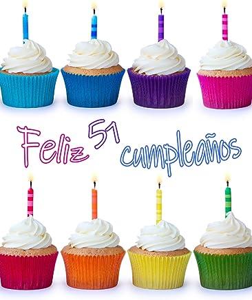 Feliz 51 Cumpleaños: ¡Mejor Que una Tarjeta de Cumpleaños!  Lindo Magdalena Diseñado Libro de Cumpleaños que se Puede Utilizar como un Cuaderno o Diario.