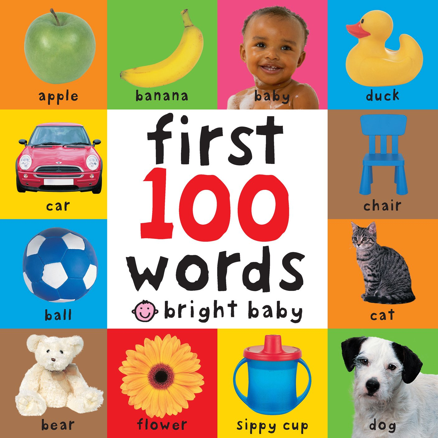 Cover image of Big Board First 100 Words by Roger Priddy