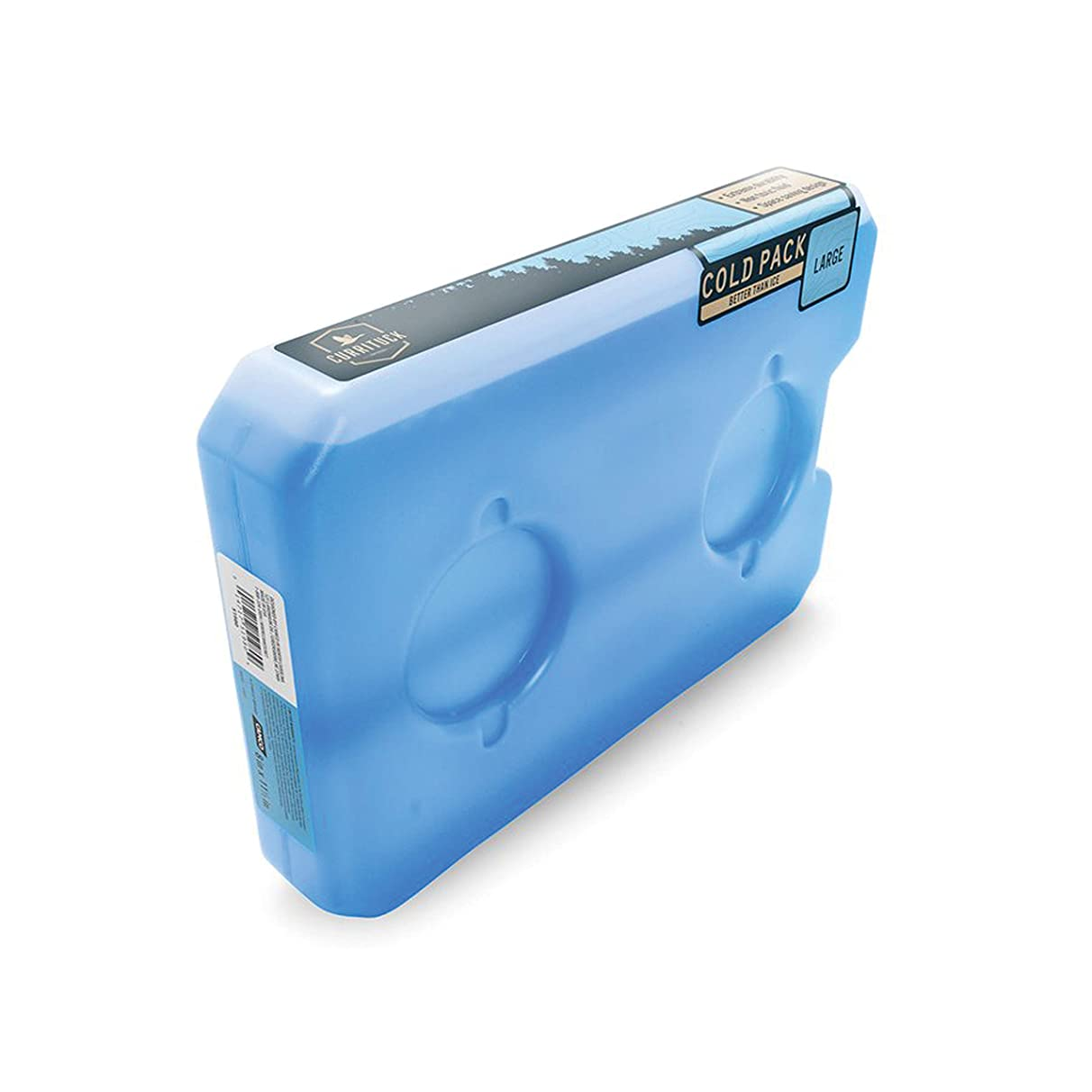 Camco Large Currituck Reusable Freezer Cold Pack for Coolers and Lunch Boxes These Cool Ice Packs are Perfect for Camping, Hiking, the Beach and Travel (51980)